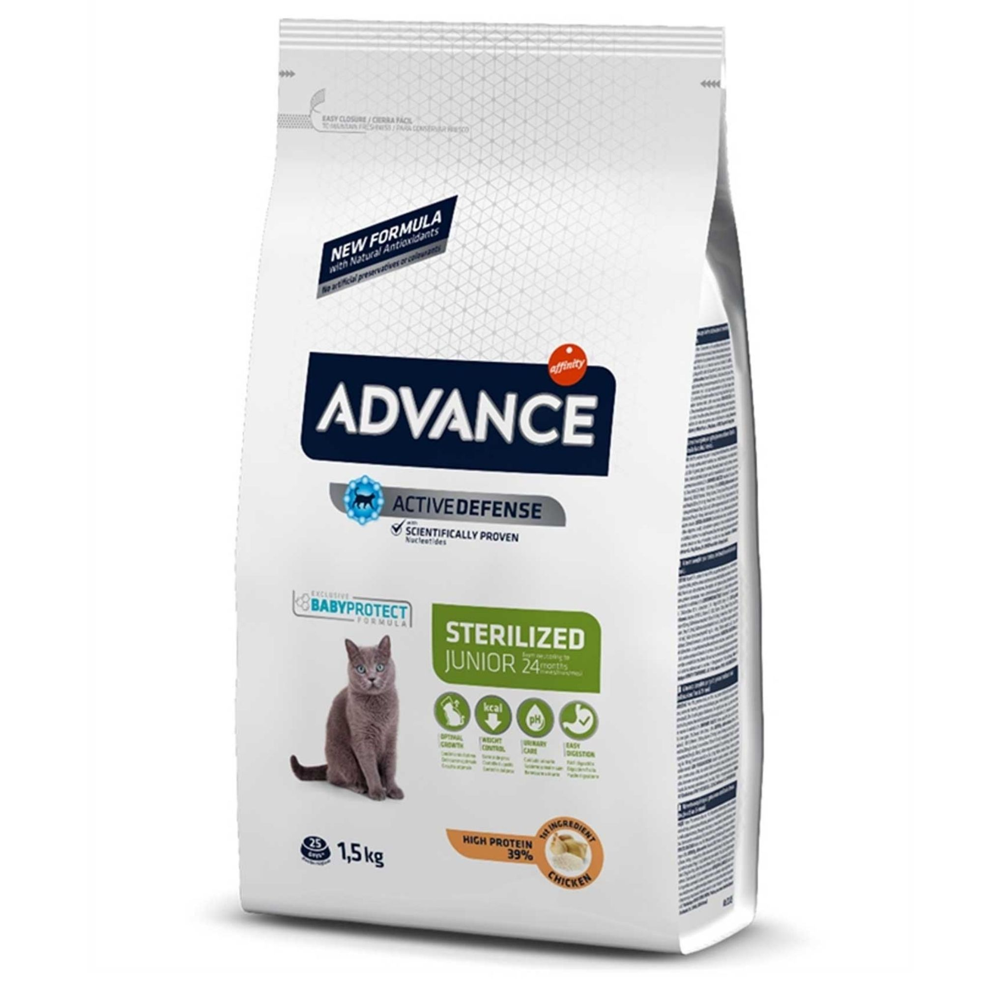 Advance Cat Young Sterilized 1,5 kg - Ornimundo
