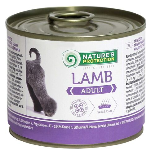 Nature's Protection Wet Dog Adult Lamb 200g