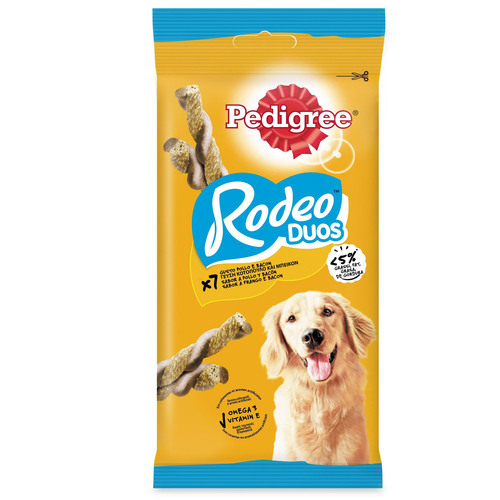 PEDIGREE SNACK Rodeo Dual Flavour Bacon & Chicken