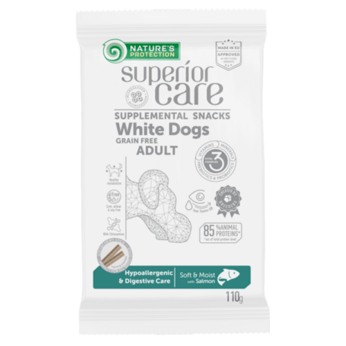 White Dogs Hypoallergenic & Digestive Care Salmon 110g