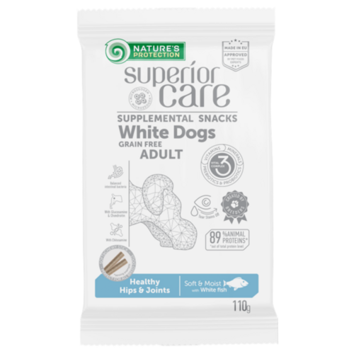 White Dogs Healthy Hips & Joints White Fish 110g