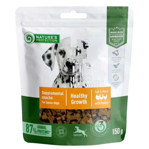 Dog Poultry Healthy Growth For Junior Dog 150g
