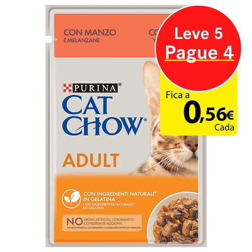 Cat Chow Beef 85g